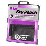 Wheel Key Lock Storage Pouch; Pack Of 1 Key Storage Pouch