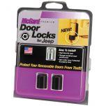 Jeep Wrangler TJ & Unl. LJ 2 Door Lock Set(M6 x 1.0 Thread Size) - Set of 2 Locks & 1 Key