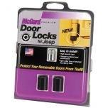 Jeep Wrangler YJ 2 Door Lock Set(5/16-18 Thread Size) - Set of 2 Locks & 1 Key
