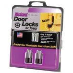 Jeep Wrangler JL 2 Door Lock Set(M6 x 1.0 Thread Size) - Set of 2 Locks & 1 Key